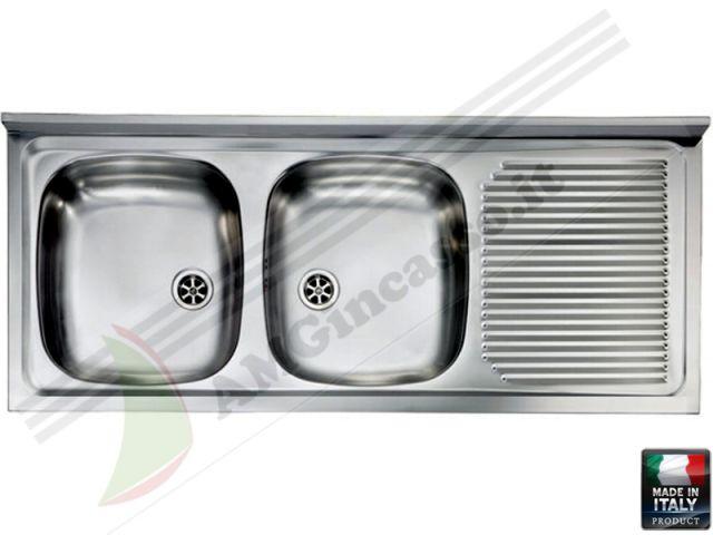 HDA12522SX - Lavello Davighi - RSI Hidra HDA12522 SX incasso cucina ...
