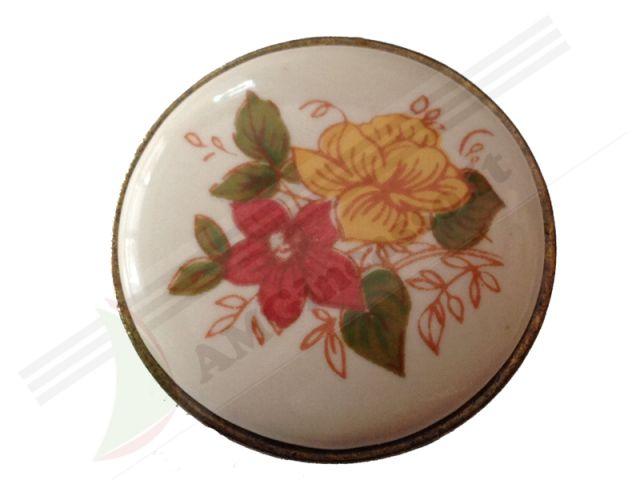 Pareti attrezzate in rovere miele - Pomelli cucina ceramica ...