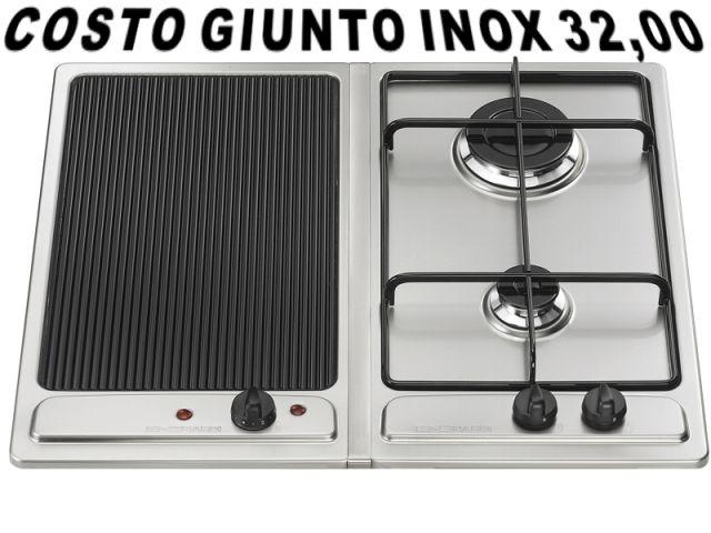 Bh02x piano cottura 30 incasso cucina nardi bh02x 2 piastre elettriche inox ecommerce amgincasso - Cucina con piastra elettrica ...