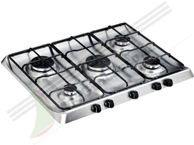 PIM750ASIX - Piano Cottura 70 incasso cucina INDESIT PIM 750 AS IX ...