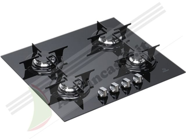 IPG640SBK - Piano Cottura 60 incasso cucina INDESIT IPG 640 S BK ...