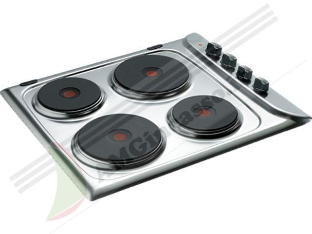 Pim604ix piano cottura 60 incasso cucina indesit pim 604 - Piastre elettriche da incasso ...