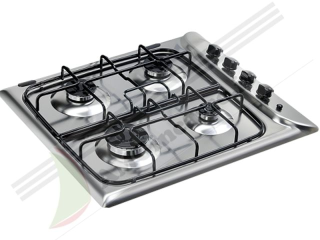 Pim640asix piano cottura 60 incasso cucina indesit pim 640 as ix 4 fuochi inox ecommerce - Cucina ariston 4 fuochi ...