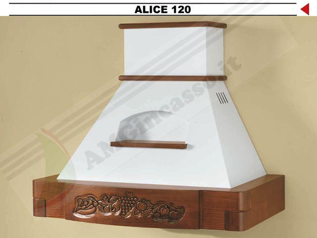 ALICE/G/120 - Cappa Alice Cm.120 cucina rustica country incasso ...
