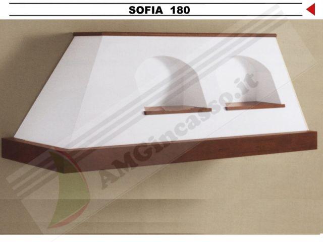 SOFIA/G/180 - Cappa Sofia Cm.180 cucina rustica country incasso ...