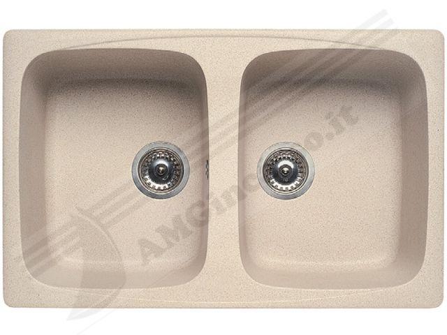 lgm35051 - lavello elleci master 350 lgm35051 79x50 2 vasche ... - Lavello Cucina 2 Vasche