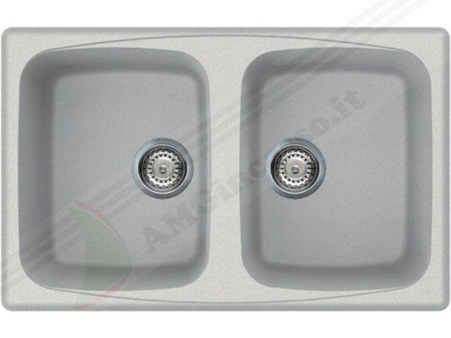 LGM35052 - Lavello Elleci Master 350 LGM35052 79X50 2 Vasche incasso ...
